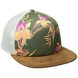 NWT Roxy Juniors Once For All Trucker Hat